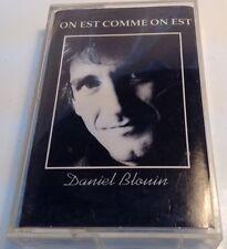 DANIEL BLOUIN Tape Cassette ON EST COMME ON EST 1993 Concept Musique PPF4-2016