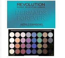 Makeup Revolution Mermaids Forever Palette 32 Eyeshadows - free shipping