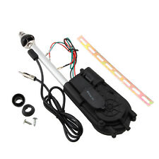 12V Universal Electric Power Antenna Replacement Kit Car AM FM Radio Mast Aerial