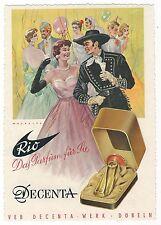 Π 13 RDA publicidad de una publicidad zeitschrieft Döbeln DDE tereftalato impreso