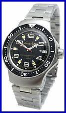 AMPHIBIA 200m VOSTOK AUTOMATIC MECHANICAL WATCH !NUOVO! 5c It