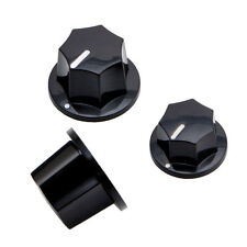 1 Set 3pcs Plastic Control Knobs For Fender Jazz Bass Guitar Parts Replacement