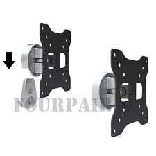 Tilt Swivel LCD LED Monitor TV VESA Wall Mount Bracket 17 19 20 22 23 24 25 27""