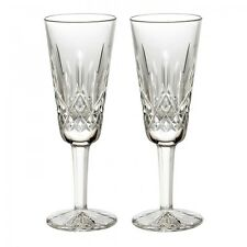 Waterford Lismore Champagne Flute 4oz Boxed Pair Brand New 154040