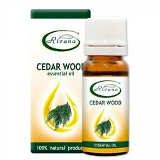 100% Natural Pure Essential Oil Cedar Wood - Juniperus virginiana - 10ml
