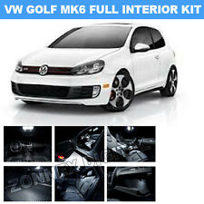 VW MK6 VI GOLF interior SMD (LED) lighting kit -Xenon white-fits GTI GTD TDI TSi