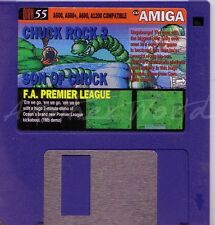 Cu Amiga-Revista coverdisk 55-Chuck Rock 2 & FA Premier League