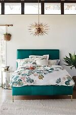 ANTHROPOLOGIE Aprile King Size Duvet, 2 Euro Shams NIP