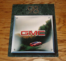 Original 1998 GMC Truck Full Line Sales Brochure 98 Jimmy Sierra Yukon Sonoma