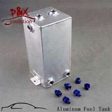 3L Universal Sandblasting Tank Aluminum Swirl Pot Fuel Surge Tank 3 Litre blue