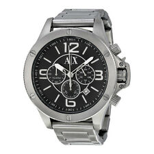 Armani Exchange  Chronograph Black Dial Stainless SteelMens Watch AX1501