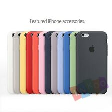Luxury Original Silicone Cover Ultra-Thin Phone Case For Apple iPhone 6S/6S Plus
