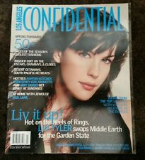 LOS ANGELES CONFIDENTIAL Magazine Liv Tyler March 2004