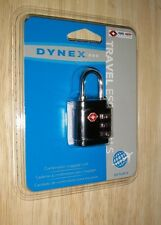 New Dynex™ - Conair Travel Smart 3-Dial Combination Lock Free Shipping