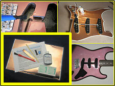 ELECTRIC GUITAR SHIELDING KIT - CONDUCTIVE PAINT COPPER FOIL PICKGUARD SHIELD