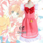 CARDCAPTOR SAKURA KINOMOTO Kero Pink Apron With Pocket Cosplay Costume