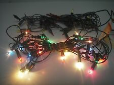 2-30 Vintage Mid-Century Christmas String Sears 1-Way Twinkle LIGHT Set