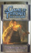 A Game of Thrones The Card Game Forging The Chain Chapter Pack NEW Sealed