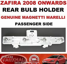 VAUXHALL ZAFIRA B BACK REAR LIGHT BULB HOLDER PASSENGER SIDE SRI CDTI ECOFLEX