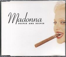 MADONNA 1992 6 MIX CD Single DEEPER AND DEEPER  NearMINT