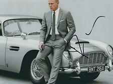 DANIEL CRAIG SIGNED SKYFALL ASTON MARTIN DB5 JAMES BOND 11x8 PHOTO - UACC RD