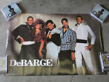 The DeBarge Family POSTER  1985 Rhythm of the Night El DeBarge Motown