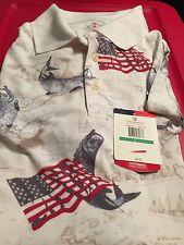 Golf America Men's  Casual Polo Shirt Size L