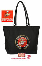 EMBROIDERED USMC US MARINES CORP SEAL HeavyDuty TOTE BAG-Beach Travel Shopping*B