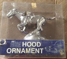 MUSTANG STALLION HORSE/CHROME/METAL HOOD ORNAMENT/GHIA no52.