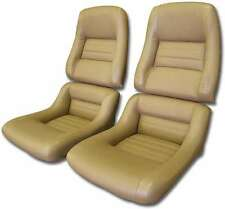 Corvette C3 79-82 +78 Pace  Leather/Vinyl Exact Reproduction Seat Covers