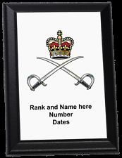 Personalised Wall Plaque - Royal Army Physical Training Corps, RAPTC and APTC