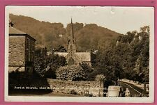 Parish Church,also Heights of Abraham in the background, Matlock, Bath. Unposted