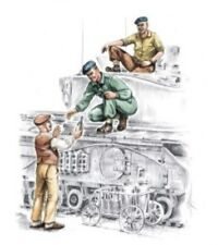 CMK 1:72 British Tankers + Civilian WWII (3. Fig) Resin Figure #F72140
