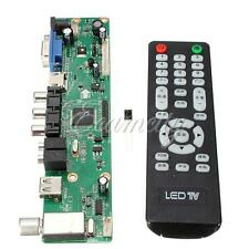 Universal LCD Controller Board TV Motherboard VGA/HDMI/AV/TV/USB Interface New