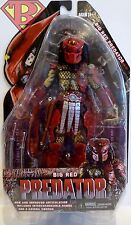 "BIG RED PREDATOR Predator 7"" inch Figure Series 7 Neca Reel Toys 2012"