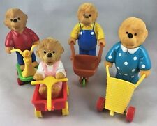 Happy Meal Toys Berenstain Bears RARE Complete Set Moma Papa Brother Sister B8A