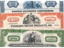 EBAY'S #1 LOT OF VINTAGE STOCK CERTIFICATES! RARER BY THE DAY! LAST CHANCE @ 99c