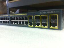 CISCO 2960 48TCL WS-C2960G-48TC-L 48 Port Ethernet Catalyst Switch