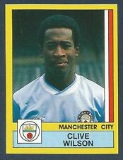 PANINI FOOTBALL 87-#158-MANCHESTER CITY-CHESTER CITY (LOAN)-CLIVE WILSON