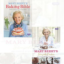 Mary Berry Collection 2 Books Set Pack (Simple Cakes, Mary Berry's Baking Bible)