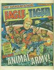 EAGLE & TIGER #173 British comic book July 13, 1985 Dan Dare VG+