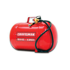 Craftsman 5 Gallon Portable Pneumatic 135 PSI Air Tank Compressor Impact Valve