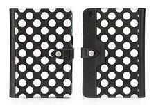 Griffin iPad Mini 3 2 1 Back Bay Polka Dot Case Cover - Black/White/Turquoise