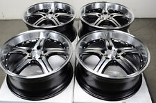 18 5x112 Rims Fits Mercedes Benz S430 E Class Volkswagen Passat Jetta Wheels
