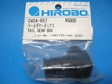 Original HIROBO Heckrotor Gehäuse 0404-657 TAIL GEAR BOX