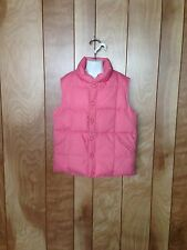 GIRL'S LANDS' END DOWN VEST-SIZE: SMALL (7-8)