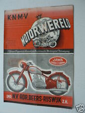 DMW 1949-03,PARILLA 250CC GP ,JIMMY GUTHRIE,G SEPPEN,WOOLER 4-CYL.,JAWA TH.BUIS,
