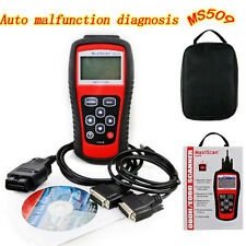 Car EOBD OBD2 OBDII Live Data Code Reader Diagnostic Scanner Engine MS509 Kit