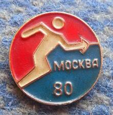 OLYMPIC MOSCOW 1980 FENCING PIN BADGE