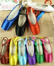 Ballet Dance Wear Pointe shoes colorful white black red yellow blue green